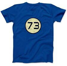 Number 73 T-Shirt 100% Premium Cotton Sheldon