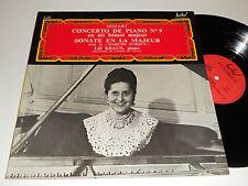 MOZART NM Lili Kraus Piano Concerto E Flat Vienna Sonata A Maj Desarzens FC-423