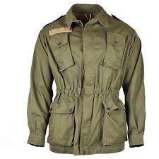 Original Italian army olive green jacket shirt military BDU surplus issue
