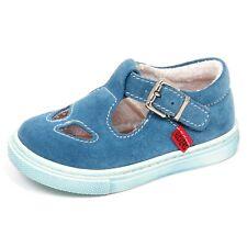 E6384 sandalo bimbo light blu KICKERS EARLY scarpe shoe baby boy