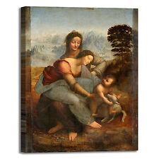 da Vinci Anna Vergine Bambino quadro stampa tela dipinto telaio arredo casa