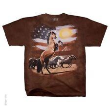 Southwestern American Stallion Horse T-Shirt U.S.A.