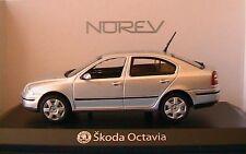 SKODA OCTAVIA II BERLINE ARGENTE 2006 NOREV 840645 1/43 SILVER SILBER SALOON
