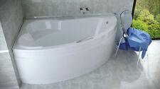 Offset Corner Bath 1400 x 900 mm SET:Front Panel, Legs ,POP UP WASTE, HANDLES