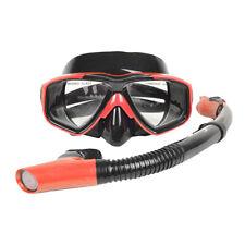 Perfeclan Adult Diving Snorkeling Freediving Mask Snorkel Set Dive Goggles