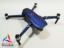 DJI MAVIC 2 PRO/ZOOM- SKIN - HONEYCOMB BLAU / HONEYCOMB BLUE - 3-5 Batterien
