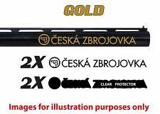 CZ Vinyl Decal Sticker For Shotgun / Gun / Case / Gun Safe / Car / CZ1