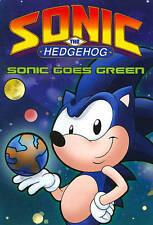 Sonic The Hedgehog: Sonic Goes Green (Dvd) Vg