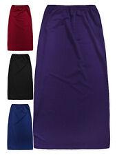 Girls Maxi Skirt New Girls Full Length Crepe Eid Long Skirts Ages 5 - 13 Ye