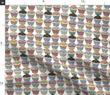 Cupcake Bakery Baked Goods Pattern Dessert Fabric Printed by Spoonflower BTY