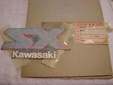 NOS Kawasaki Gas Tank Fuel Cell Emblem 1989 SX650 56050-1399