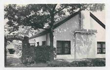 1940'S WASH DC DODGE HOTEL GARDEN HOUSE POSTCARD PC2586