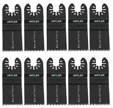 35mm Coarse Antler Blades Dewalt Stanley Worx F30 Dremel Oscillating Multitool