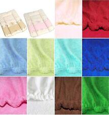 Frotteebezug für Wickeltischauflage 70x50 Bezug für Wickelauflage Farbauswahl