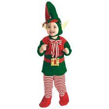 Baby Elf Costume Infant/Toddler Christmas Santa's Lil' Helper Fancy Dress Outfit