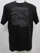 Denver Broncos NFL Big Men's Short Sleeve Reflective Screen T-Shirt Black 2X-5X