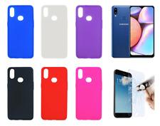 "Etui Gel Silicone Housse Coque Samsung Galaxy A10S 6.2"" + Protecteur Optionnel"