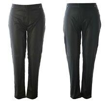MARINA RINALDI Women's Realta Faux Leather Leggings $370 NWT