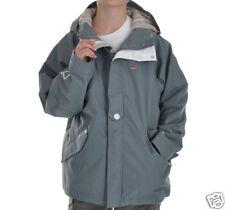 Foursquare Lil Fabian Jacket Kids Youth Boys Waterproof Ski Snowboard Gray M