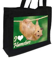 IO Amo Criceti Cotone Shopping Bag, - scelta di colori.