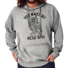 You Make My Head Spin Funny Hipster Owl Gift Hoodies Sweat Shirts Sweatshirts