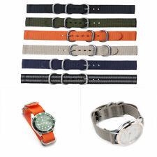 Uhrenarmband mit Unterleder Mehrere Farben Auswahl Nylon Band 18 bis 24 mm