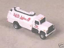 N Scale 1998 White International Jiffy John Septic Tank Truck