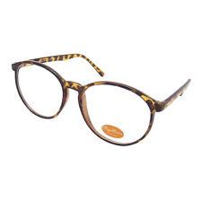 Round Retro Brille Hornbrille Klarglas  RAY1505
