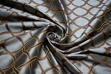 Silk Linen Blend Fabric Fabricut Bruckheimer Lagoon Lt Blue Drapery Upholstery