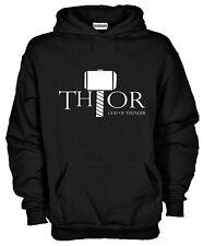 Felpa Con Cappuccio KJ1081 Thor God Of Thunder Viking