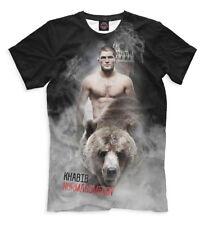 Nurmagomedov Khabib t-shirt - MMA  great fighter World Champion UFC