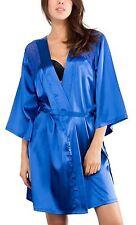 New Ladies Satin Babydoll Pijama Sleepwear Lingerie Nightwear Lace Dress 8-18