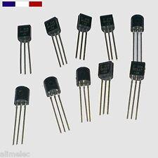 Transistors BC327 BC337 - 25 - NPN PNP 45V 0.5A Par 5, 10  ou 20pcs
