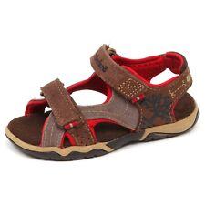 E6308 sandalo bimbo brown TIMBERLAND scarpe strappi shoe kid boy