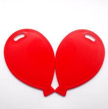 Red Balloon Weights Balloon Shape Foil Latex Wedding Birthday Anniversaries