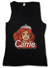 Carrie Puppet Femmes Tank Top Barbie Letters Fun Princess Poupée Cartoon Couronne