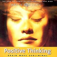 NEW Positive Thinking (Brain Sync Audios) Audio CD Howell, Kelly