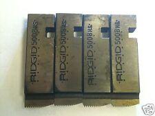 Ridgid 1/4x20 Unc Rh Thread Dies Fits Ridgid 500B Head