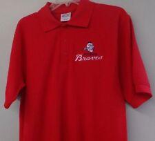 Atlanta Braves MLB Throwback Mens Polo Shirt XS-6XL LT-4XLT Milwaukee Boston New