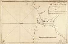 RISTAMPA fotografica antico per la spedizione costa & Mari Mappa REPUBBLICA DOMINICANA SANTO DOMINGO