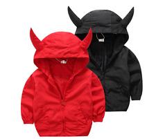 Toddler Infant Baby Boy zipper outerwear Hooded coat shark Jacket Clothes