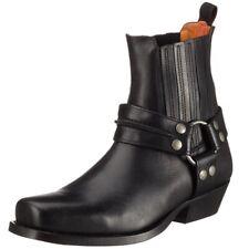 DOCKERS par gerli MOTARDS western bottes bottines bottes 170102 Noir