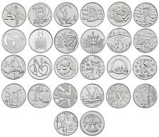 2018 British A-Z 10p Pence Coins - Choose Letter - James Bond Alphabet Set NHS