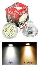 LED Passend für Einbaustrahler MR16 GU5,3 12V 3W LED Kalt & Warmweiß Schutzglas