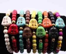 Buddha Armband Glücksarmband Schutzarmband Buddhaarmband mit Buddhakopf Schutz