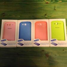 ORIGINALE Protettiva TPU Case Cover per Samsung Galaxy S3 I9300 CUSTODIA