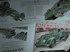 REEDITION  1994 CATALOGUE CAMION HOTCHKISS PL25 1952
