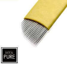 Microblading Blades Eyebrow Needles - 0.20 - Extra Fine SPMU Tattoo Microblades