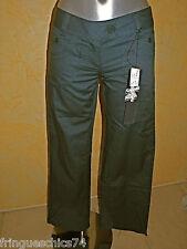 pantaloni blu ardesia donna KANABEACH darlin T 36 (W26) NUOVO CON ETICHETTA val