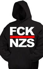 FCK NZS kapu Pullover Anti Nazi Oi GNWP Punk AFA Gegen Nazis ARA 161 HC Skin Ska